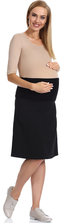 Be Mammy Maternité Jupe Jean Femme Enceinte Vêtements Grossesse Été GX203