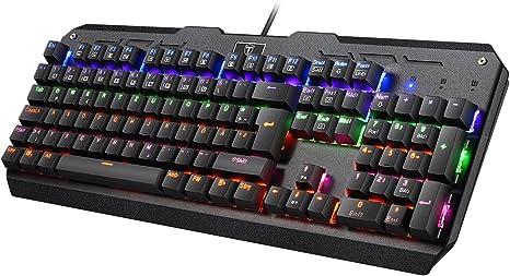 Topop 105 mechanische Gaming Tastatur | Menü