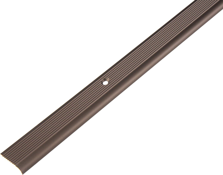 Aluminium GAH-Alberts 476953 Treppenkanten-Schutzprofil silberfarbig eloxiert 1000 x 23 x 5 mm