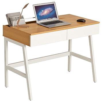 Home Office Retro Stil Computer Laptop Und Schreibtisch Mit