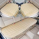 PDR カーシートカバー 座布団 シートクッション 座席シート 3枚組 カー用品