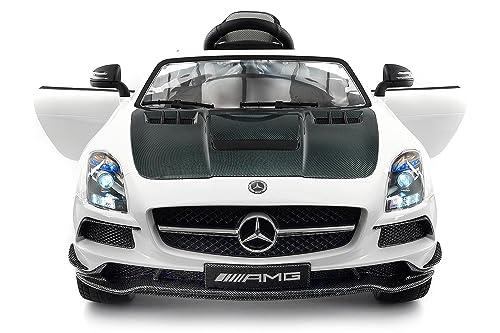 Carbon White SLS AMG Mercedes Benz Car