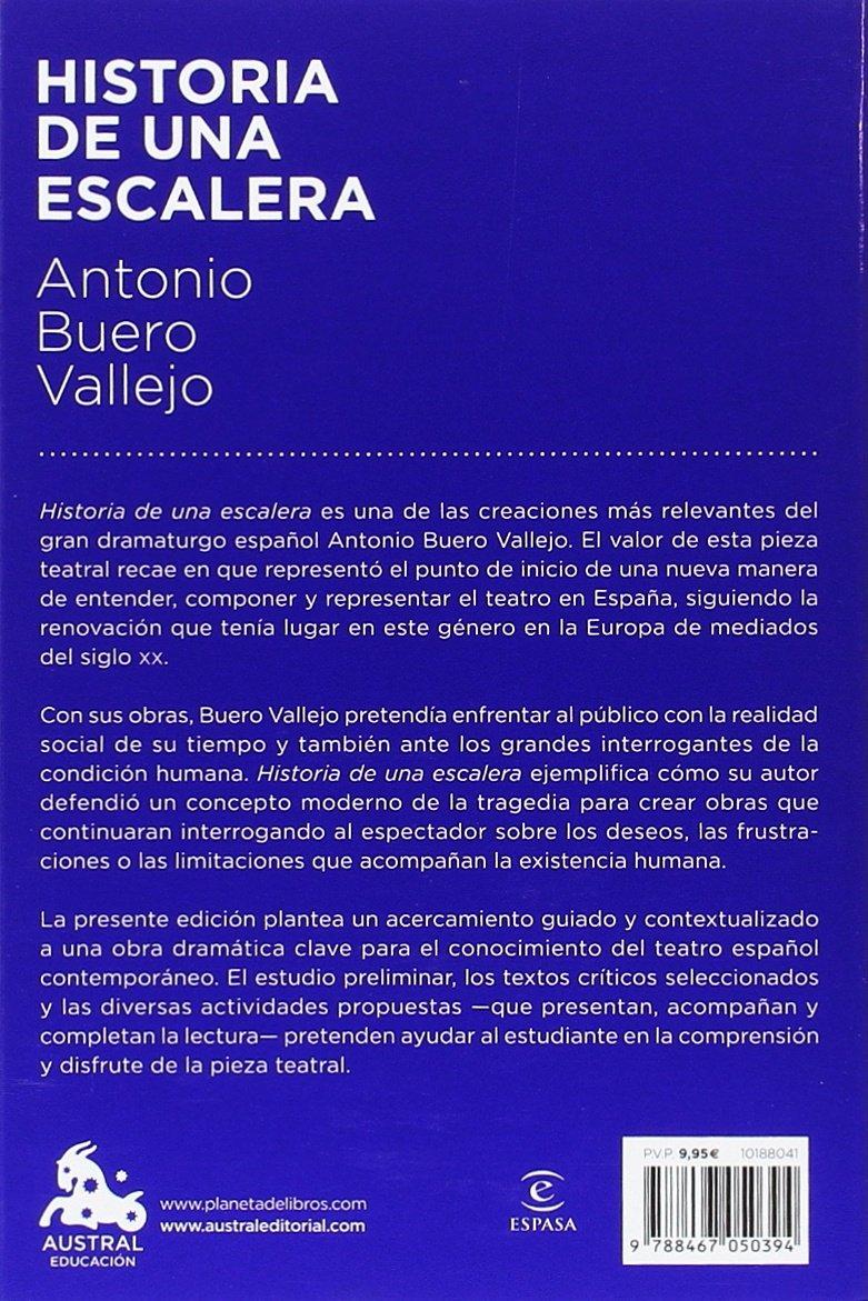 Historia de una escalera (Austral Educación): Amazon.es: Buero Vallejo, Antonio: Libros