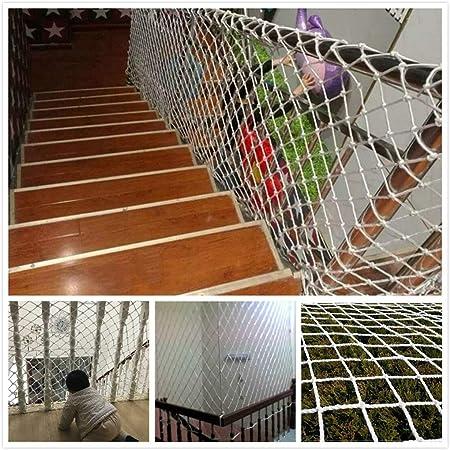 Red De Protección para Vallas Red De Remolque,Red De Carga, Red De Seguridad para Escaleras para Niños,Red De Escalada para Niños contra Caídas para El Reposabrazos De La Piscina Red De Cable: