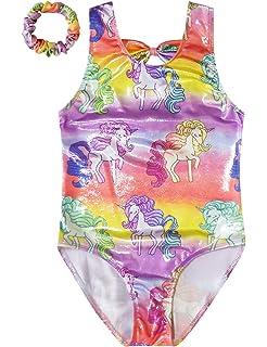 8382b6329 Amazon.com  Balera Gymnastics Leotard Metallic Rainbow  Clothing