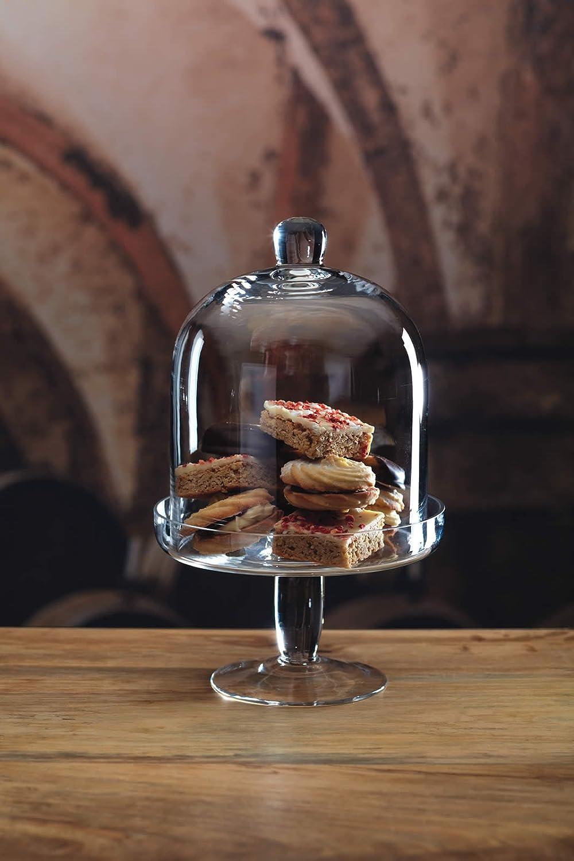 Kitchencraft - Artesa, alzatina per dolci e formaggi, in vetro ...