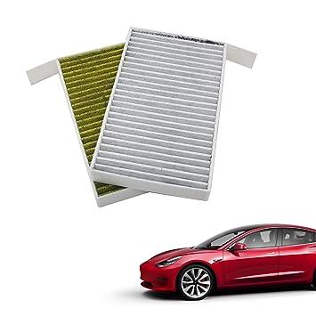 Amazon.com: COOCA - Filtro de aire para cabina modelo 3 para ...