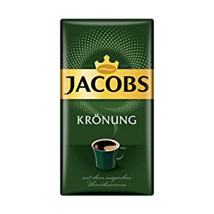 Jacobs Kronung Ground Coffee 500 Gram / 17.6 Ounce (Pack of 1)