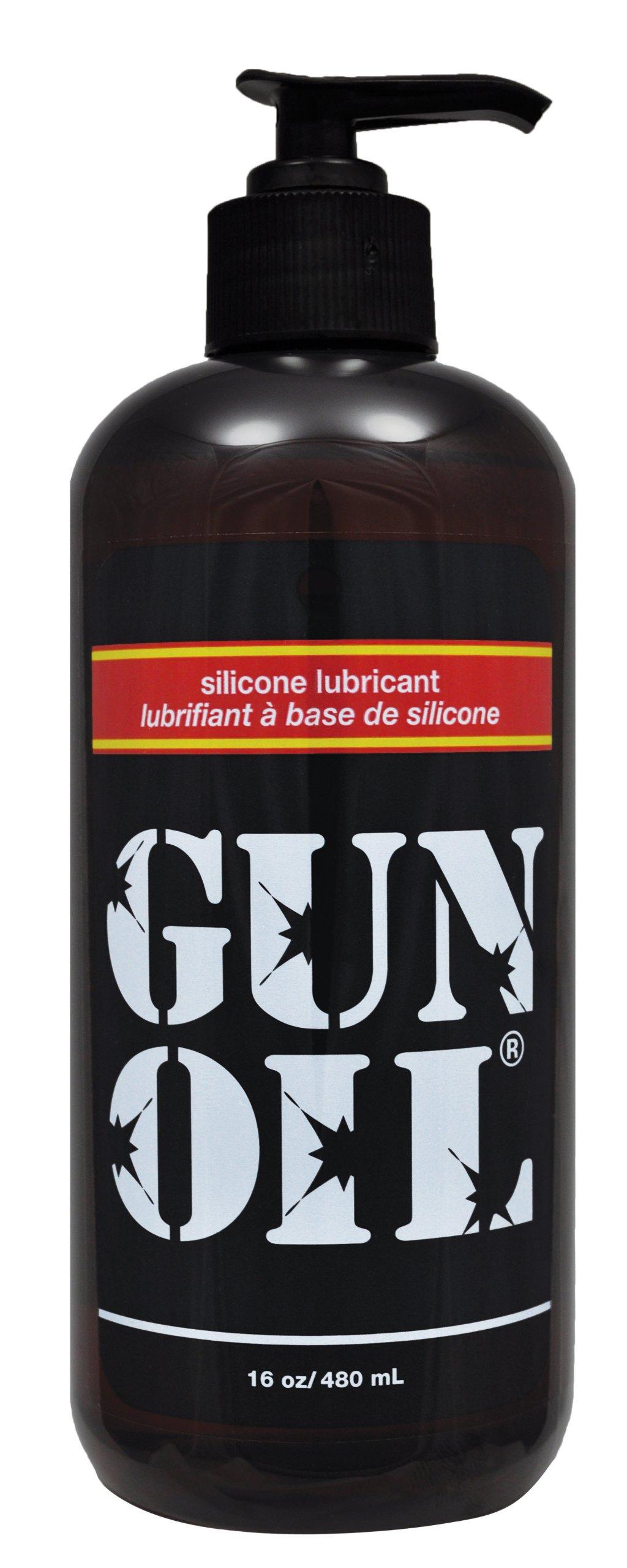 Gun Oil Silicone Lubricant, 16 Ounce by Gun Oil