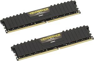 Corsair Vengeance LPX 32GB (2x16GB) 2133MHz C13 DDR4 DRAM Memory Kit – Black