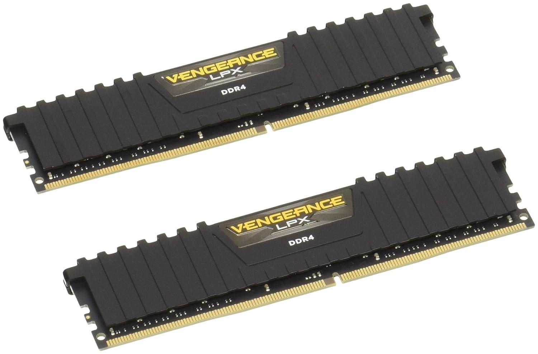 Corsair Vengeance LPX 1 x 16 GB, DDR4, 2666 MHz, C16 Color Negro M/ódulo de Memoria XMP 2.0 de Alto Rendimiento de 16 GB