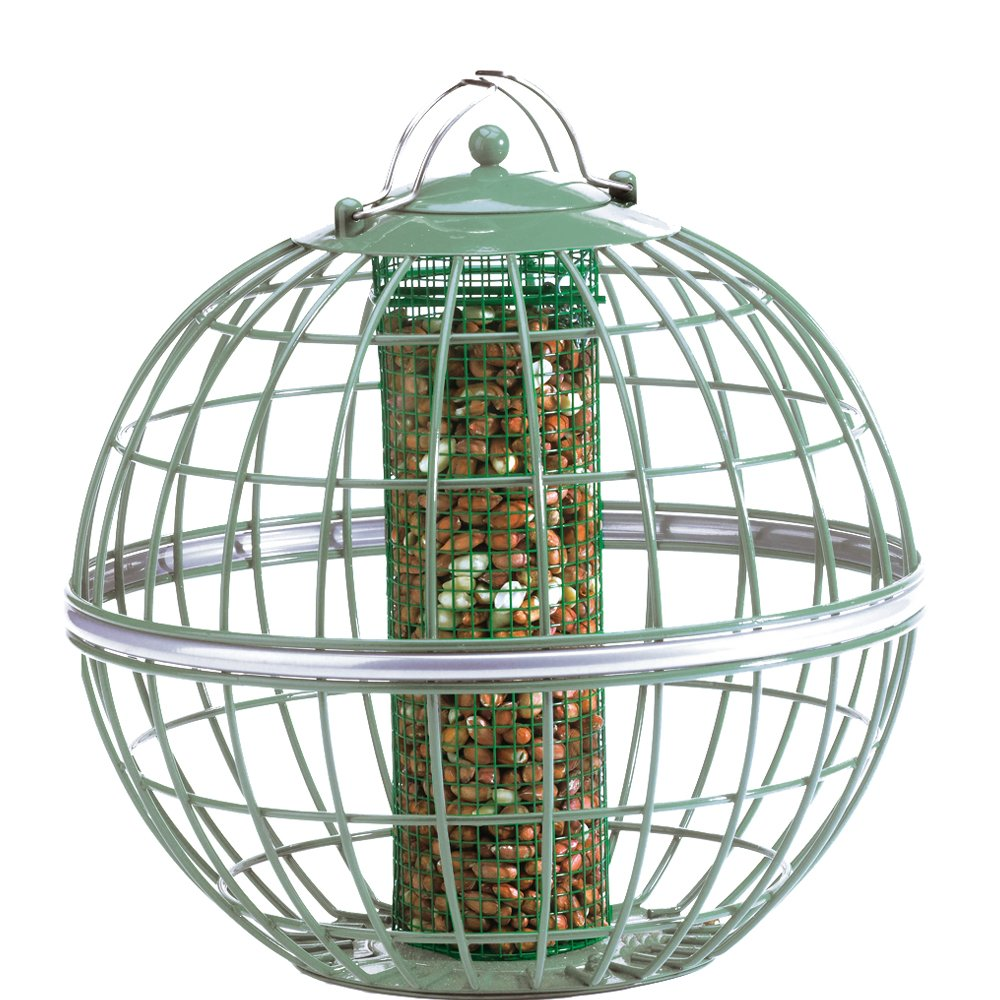 The Nuttery NT070 Globe Peanut/Sunflower Seed Feeder by The Nuttery