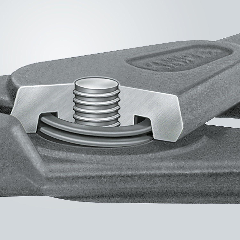 Knipex 4911A1 Pince de pr/écon pour Circlips ext/érieurs 10-25 mm droite