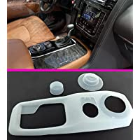 GoldenDealsUAE Compatible for Nissan Patrol Y62 2020-2021-2022 platinum Gear Box Cover Gear Shift Panel Drive Control…