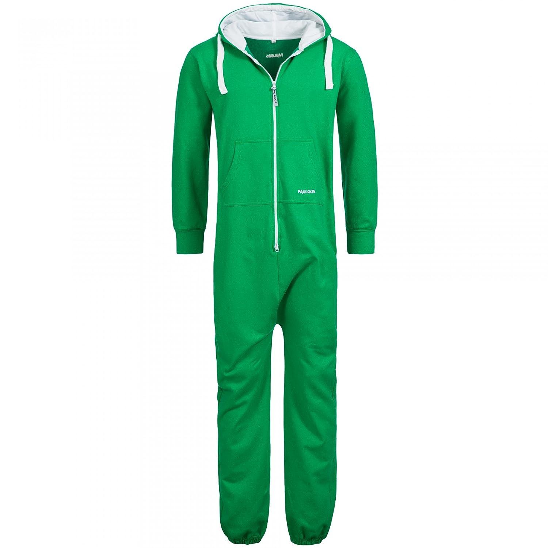 PAULGOS Herren Jumpsuit Jogger Jogging Anzug Trainingsanzug Overall in 7 Farben Gr S-3XL