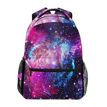 ZZKKO Universe Space Galaxy Star Comos Nebula Mochilas Colegio Libreta Bolsa de viaje Senderismo Camping Daypack: Amazon.es: Deportes y aire libre