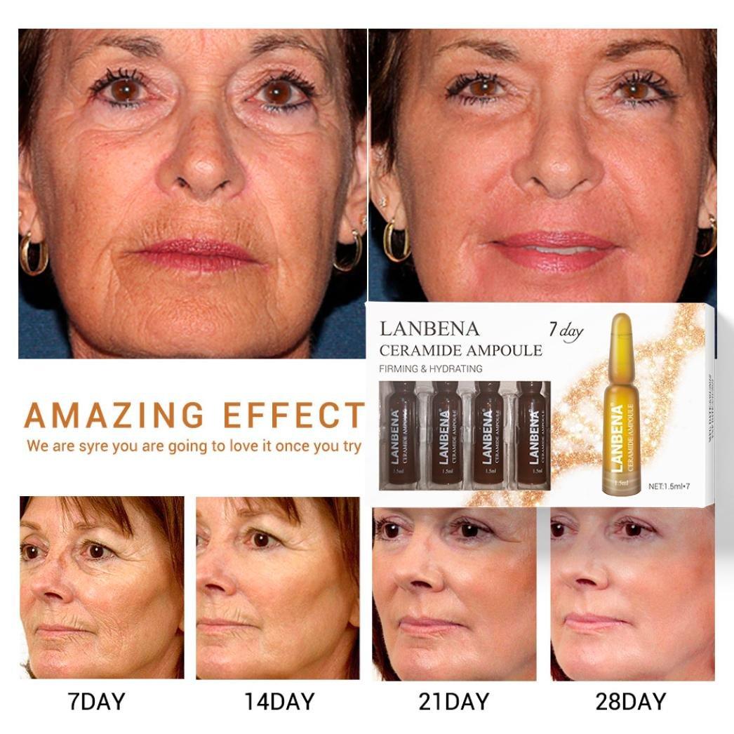 Anti Aging, Effective Anti Wrinkle Ceramide Ampoule Serum Set for Face Lifting Coerni