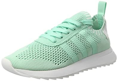 brand new 3358d fe1c5 adidas Flashback Primeknit, Sneakers Basses Femme, Turquoise Easy  GreenFootwear White, 36