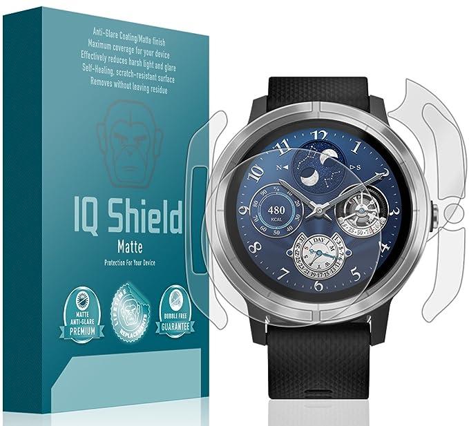 3289f38ee Garmin Vivoactive 3 Screen Protector, IQ Shield Matte Full Coverage  Anti-Glare Screen Protector