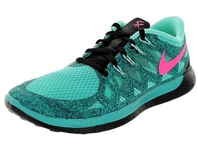 new product a5320 92f32 Nike Women s Free 5.0 Hypr Jd Hypr Pnk Hypr TRQ Blk Running Shoe