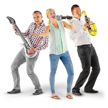 4 x juego de 3 hinchable topfbänder E-guitarra micrófono de ...