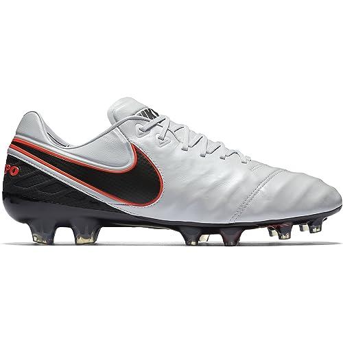 bcab689bb Nike Men s Tiempo Legend VI FG Soccer Cleat (Sz. 7.5) Pure Platinum ...
