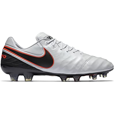 new product f916c c44f4 Nike Men s Tiempo Legend VI FG (Pure Platinum Hyper Orange) ...
