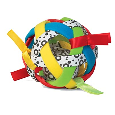 Manhattan Toy Bababall Sensory Sphere and Rattle: Toys & Games