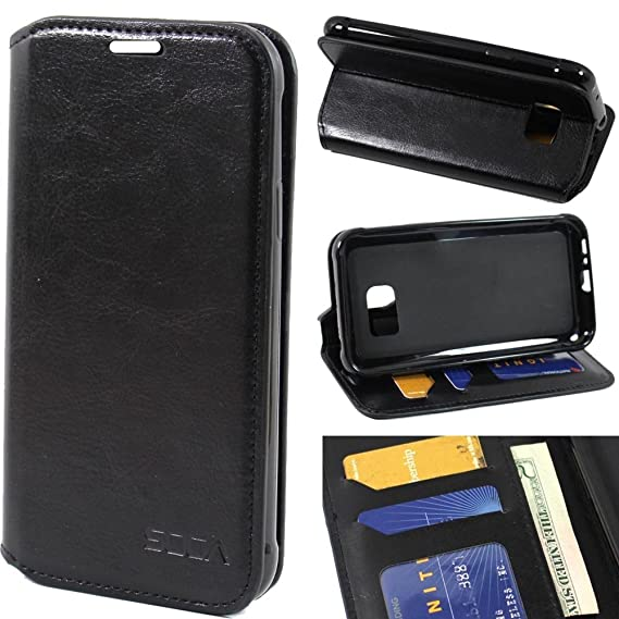 finest selection 2dac3 72b58 Galaxy S7 Active Case, Samsung Galaxy S7 Active Wallet Case, SOGA  [Pocketbook Series] PU Leather Folio Flip Wallet Case for Samsung Galaxy S7  Active - ...