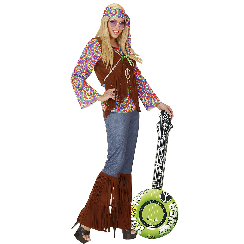 WIDMANN 23952 hinchable Banjo, unisex ? Adultos, color rosa ...