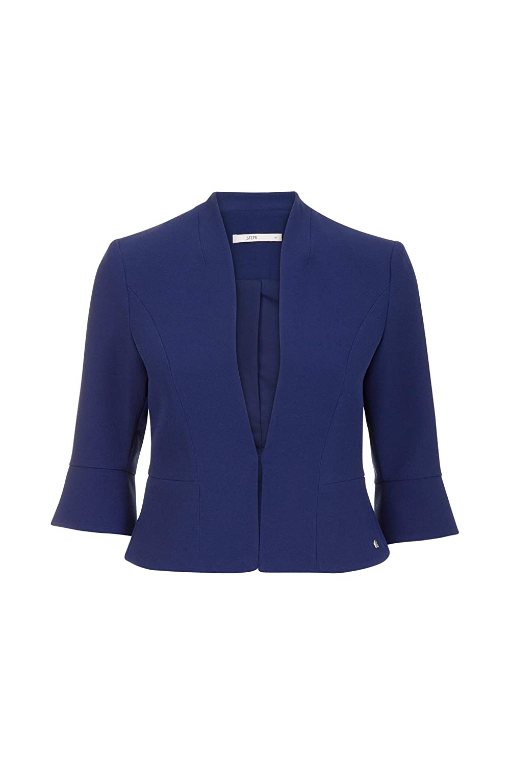 Steps Damen Blazer Einfarbig Modisch Business