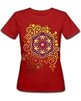 Blume des Lebens Frauen Bio-T-Shirt von Spreadshirt®