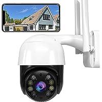 Beveiligingscamera IP 1080P HD voor Buiten, Camera WiFi Tweeweg Audio Nachtzicht APP Alarm Bewegingsdetectie IP66…