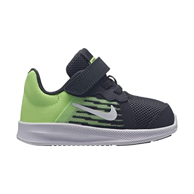 612e544db7 Nike Boy's Downshifter 8 (TD) Toddler Shoe Anthracite/White/Lime Blast/