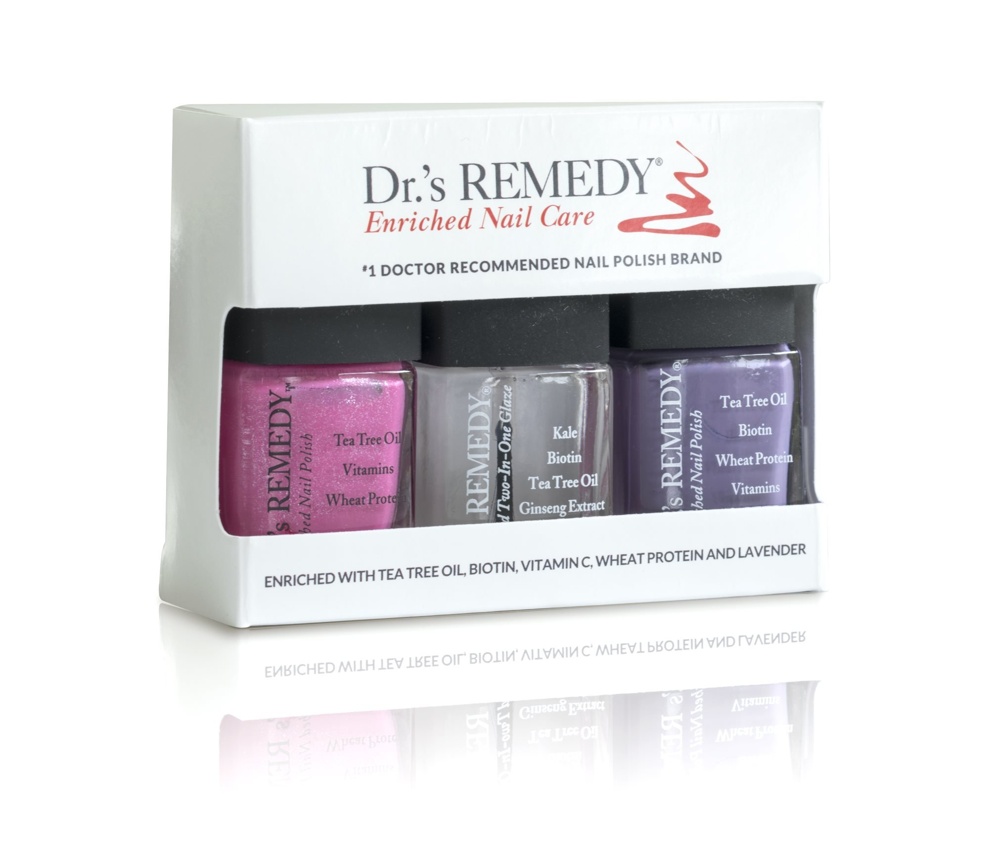 Dr.'s Remedy Nail Polish Gift Set - Doctor Recommended Orthoticshop Box Set
