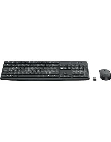 Logitech 920-007919 MK235 - Teclado y ratón inalámbrico, negro