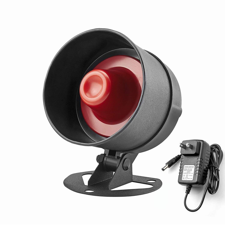KERUI Loud Indoor Outdoor Weatherproof Siren Horn Host DIY Home Business Security Alarm System