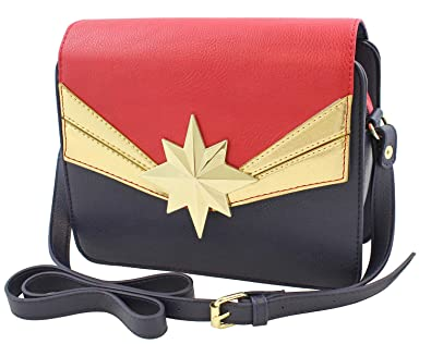 Captain Marvel Crossbody Tote