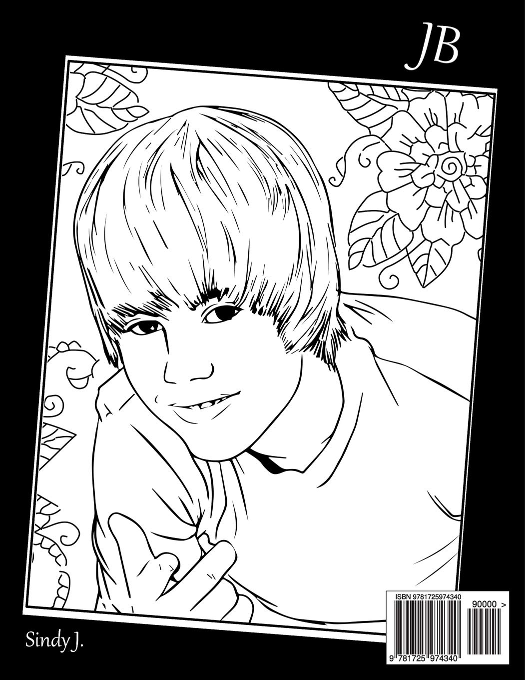 JUSTIN BIEBER coloring pages - Coloring pages - Printable Coloring ... | 1360x1051