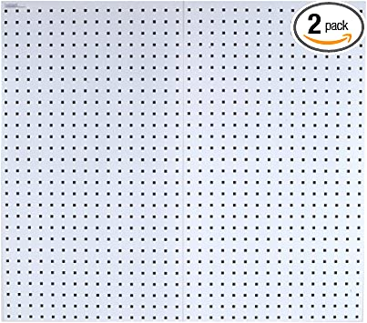 24-Inch x 24-Inch x 9//16-Inch Blue Triton Products LB1-B LocBoard Steel Square Hole Pegboards