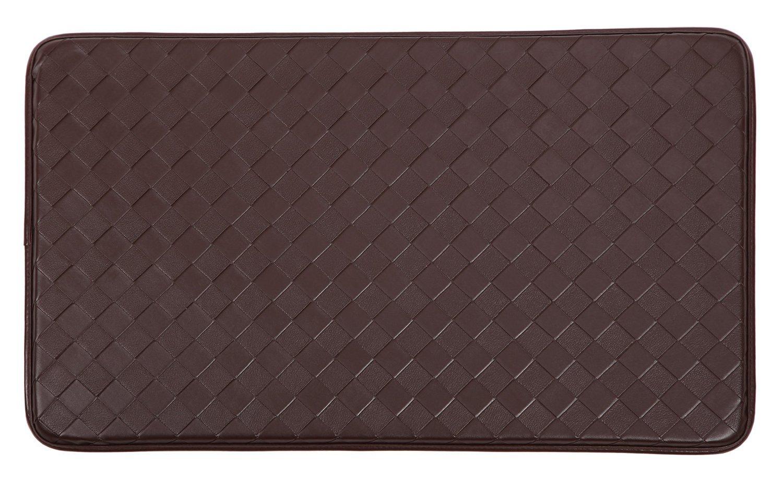 AnthroDesk standing desk anti-fatigue floor mat (Black)