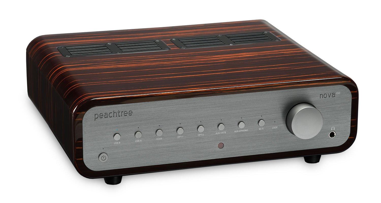 Peachtree Audio nova150 Integrated Amplifier with DAC (Gloss Ebony Mocha)