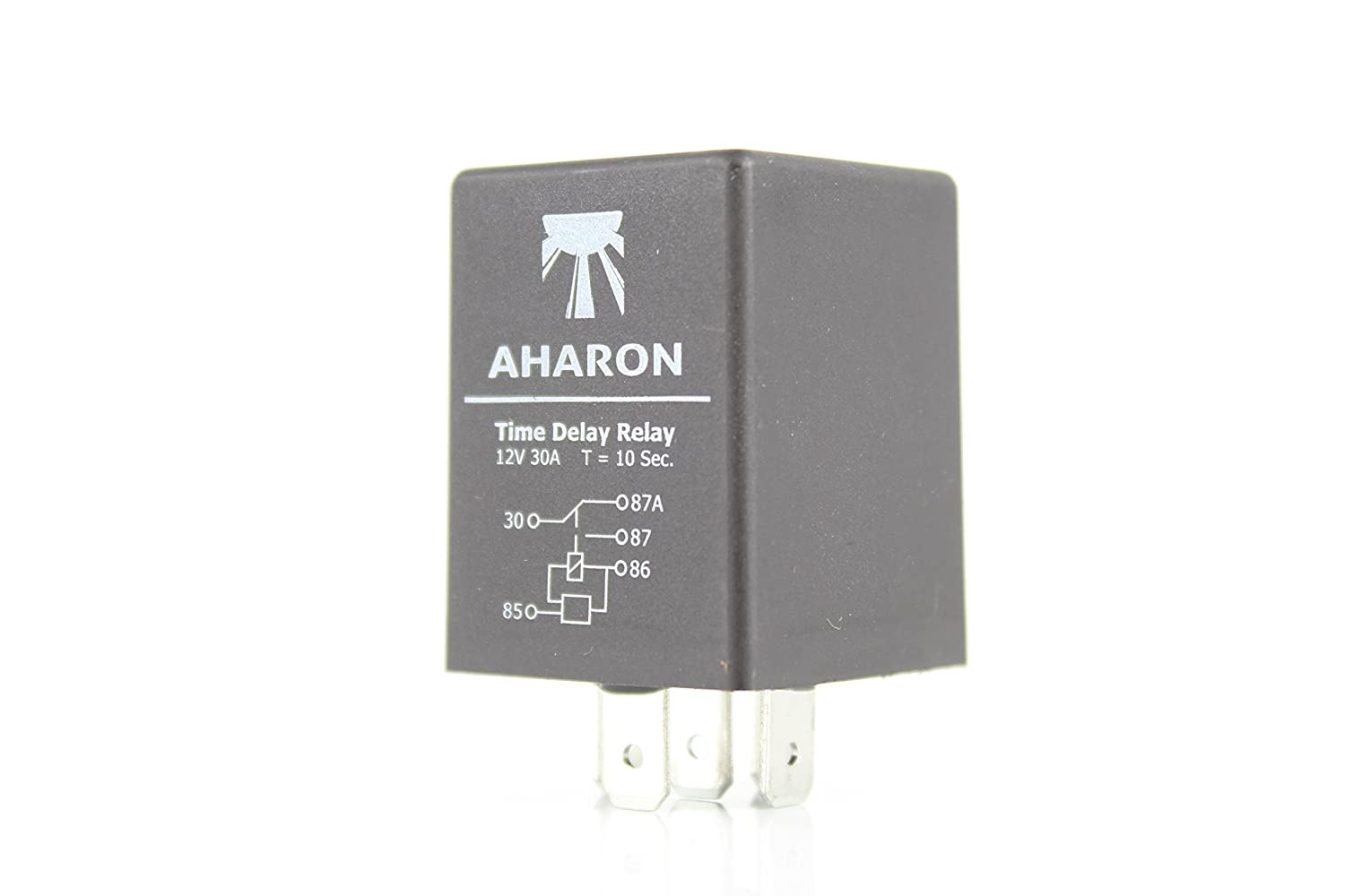 Time Delay Relay 10 seconds 5 pin 12V 30A 5 pin SPDT Aharon