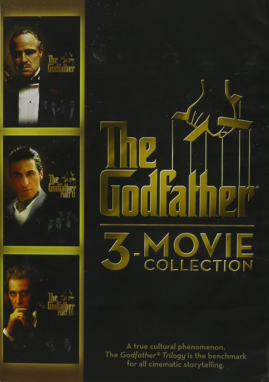 Amazon.com: The Godfather 3-movie Collection: Al Pacino, Marlon ...