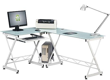Scrivania Angolo Computer : Yelloo scrivania tavolo postazione ufficio poltrona design