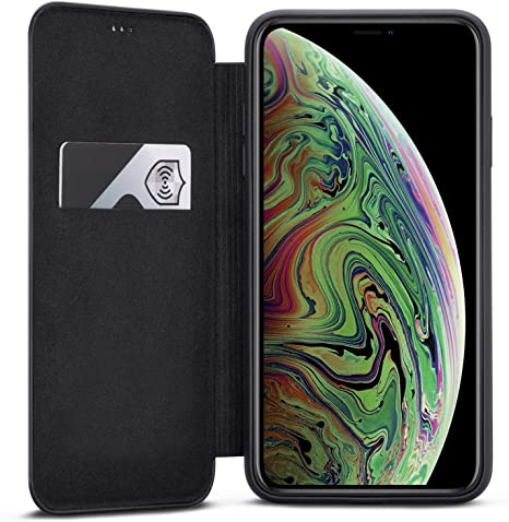 custodia libro iphone xs max