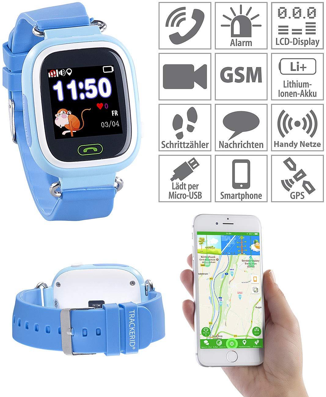 TrackerID Tracker ID Reloj Niños: de Smart Watch, Teléfono, GPS ...