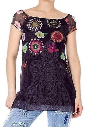 Shirt Gris Femme M Desigual 19swtk81 Betsy Ts T tQdoshrBxC