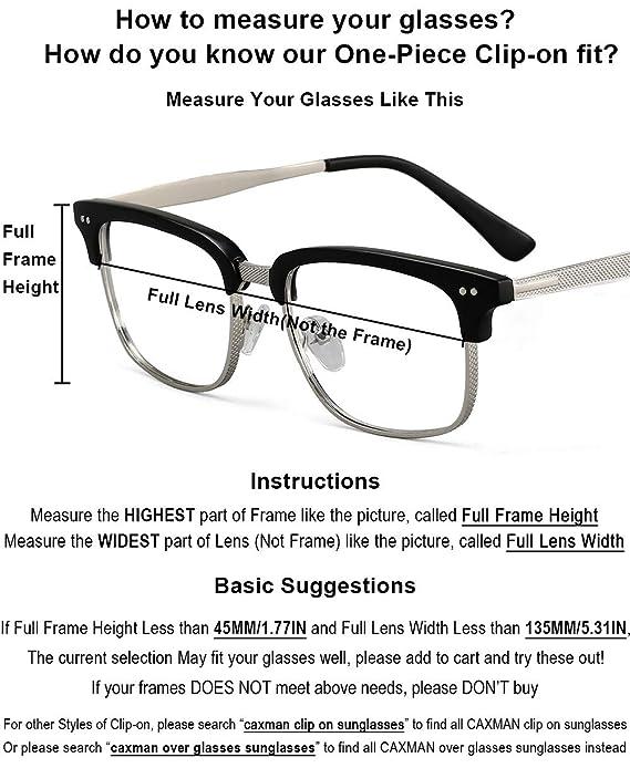 Glasses Men One Over Clip Piece For On Prescription Women Style Polarized Sunglasses lFJc3K1T