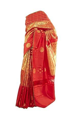 863e0a8b686bb Mysore Saree Udyog - Saree with Blouse-Kancheepuram